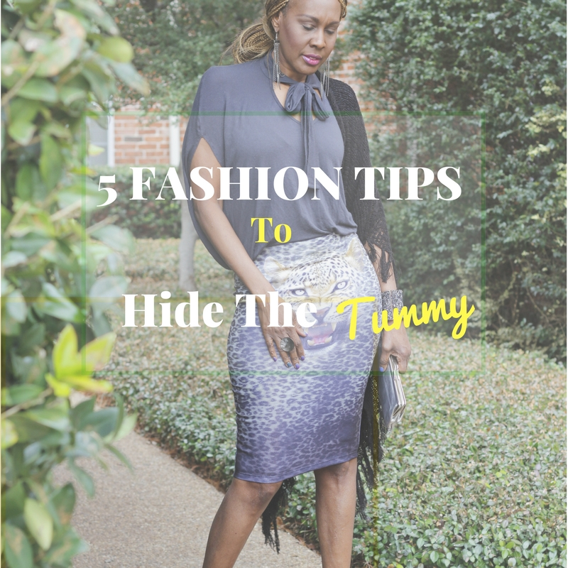 5 tips to hide the tummy